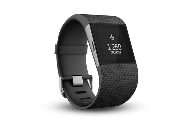 fitbit surge fitness tracker activites