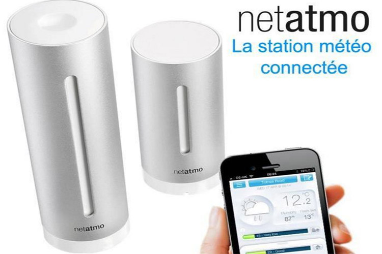netatmo station m t o pour smartphone test et avis de la. Black Bedroom Furniture Sets. Home Design Ideas