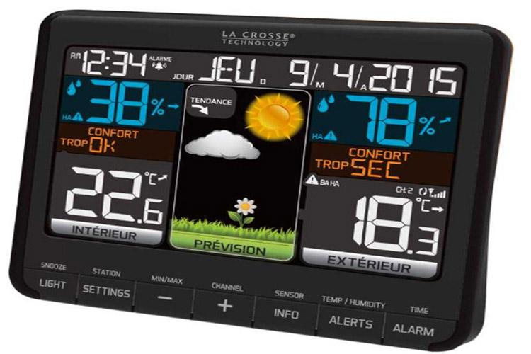 La Crosse Technology WS6825 station météo connectée