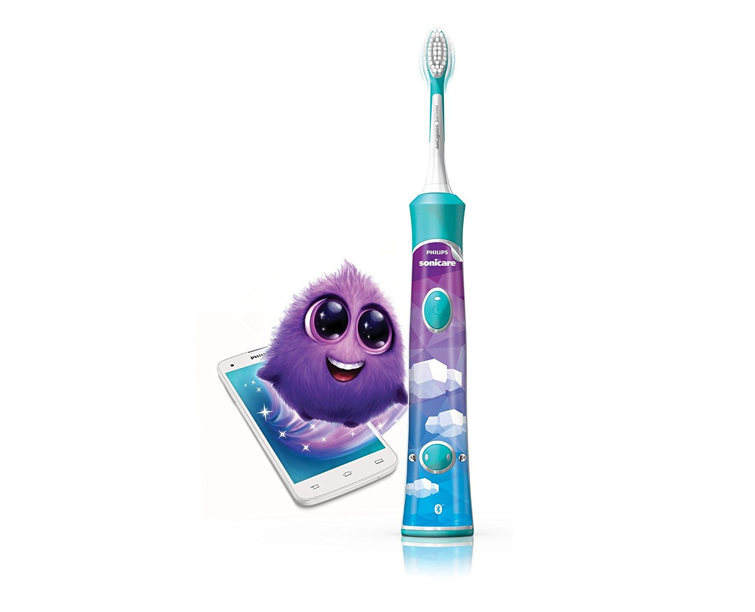Brosse à dents connectée Sonicare For Kids