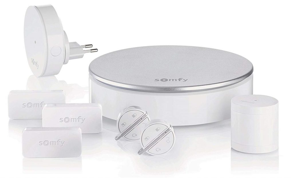 somfy home alarm test