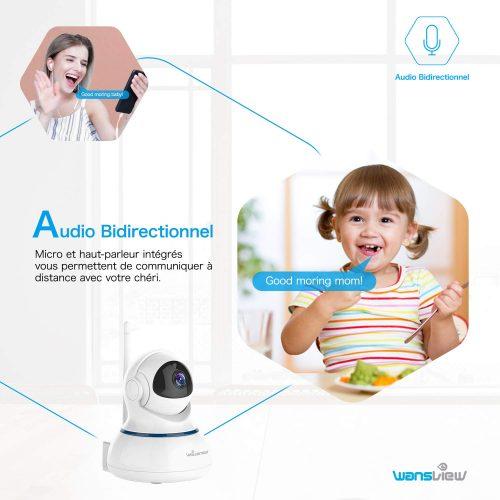 wansview camera connectee