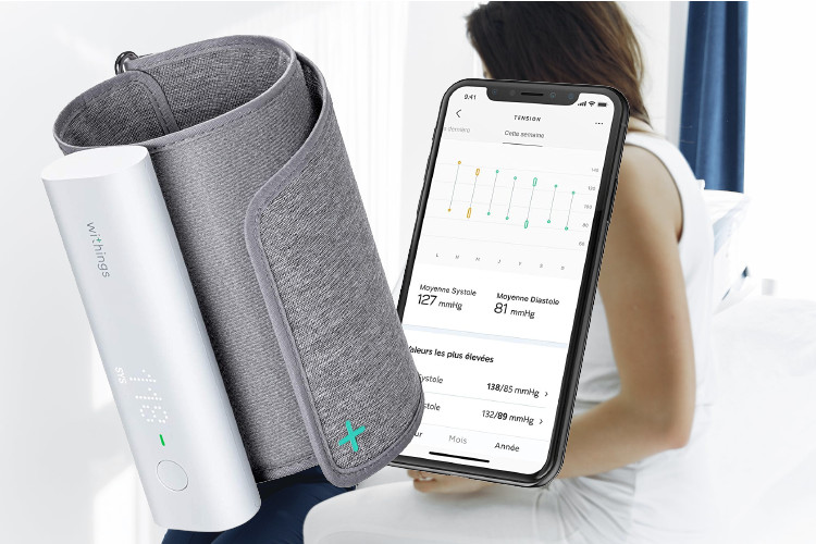 withings bpm connect avis tension